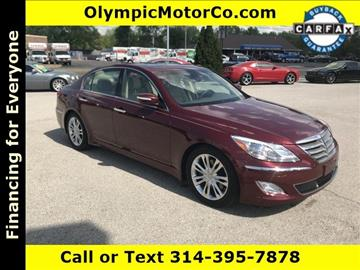 2012 Hyundai Genesis for sale at OLYMPIC MOTOR CO in Florissant MO