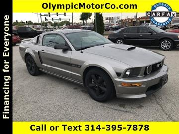 2009 Ford Mustang for sale at OLYMPIC MOTOR CO in Florissant MO