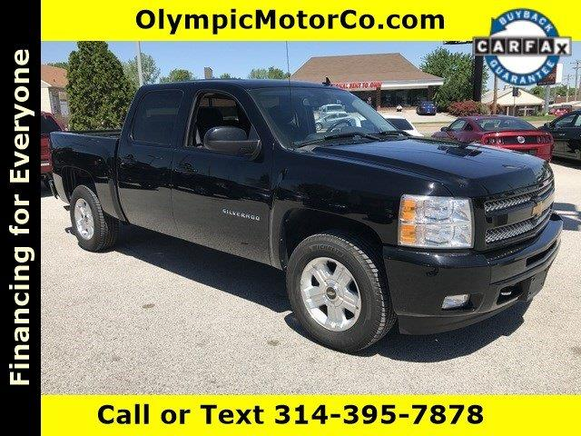 2011 Chevrolet Silverado 1500 for sale at OLYMPIC MOTOR CO in Florissant MO