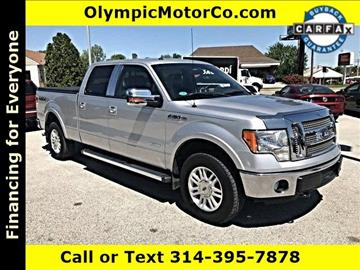 2012 Ford F-150 for sale at OLYMPIC MOTOR CO in Florissant MO