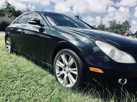 2008 Mercedes Benz CLS For Sale In Fort Lauderdale, FL