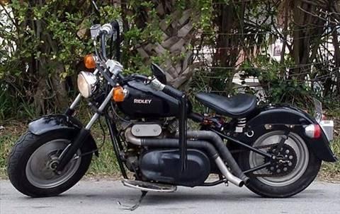 2002 Ridley Speedster American Motorcycle