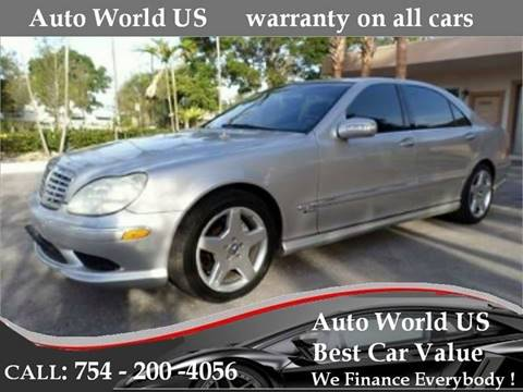 2004 Mercedes-Benz S-Class for sale in Plantation, FL