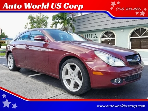 2006 Mercedes-Benz CLS for sale in Plantation, FL