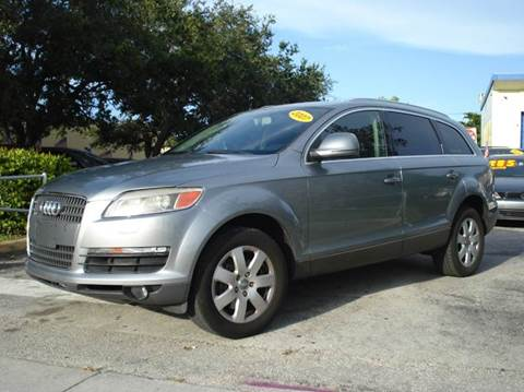 2007 Audi Q7 for sale at Auto World US Corp in Plantation FL