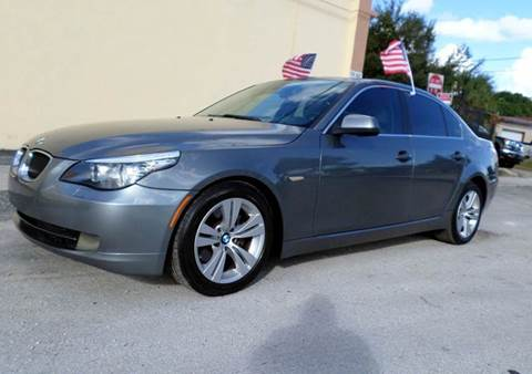 2010 BMW 5 Series for sale at Auto World US Corp in Plantation FL