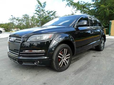 2008 Audi Q7 for sale at Auto World US Corp in Plantation FL