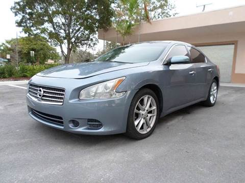 2010 Nissan Maxima for sale at Auto World US Corp in Plantation FL