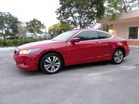 2009 Honda Accord for sale at Auto World US Corp in Plantation FL