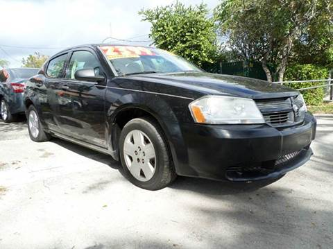 2008 Dodge Avenger for sale at Auto World US Corp in Plantation FL