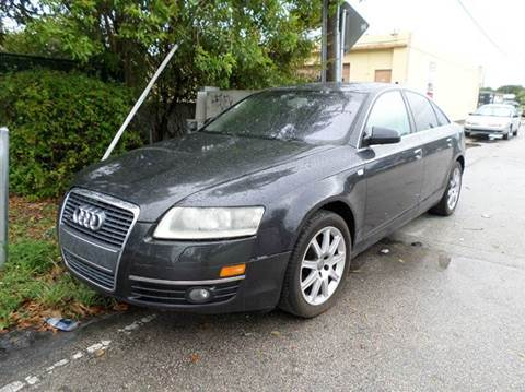 2005 Audi A6 for sale at Auto World US Corp in Plantation FL
