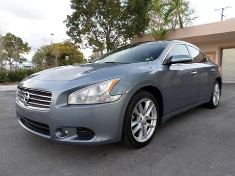 2011 Nissan Maxima for sale at Auto World US Corp in Plantation FL
