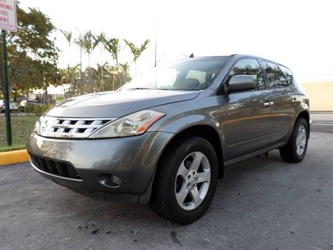 2005 Nissan Murano for sale in Plantation, FL