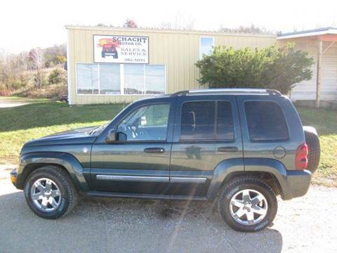 2005 Jeep Liberty for sale at SCHACHT MOTOR CO in Decorah IA