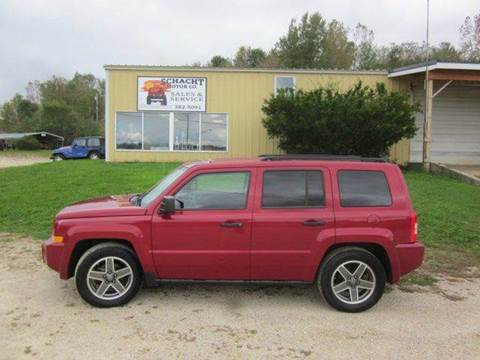 2009 Jeep Patriot for sale at SCHACHT MOTOR CO in Decorah IA