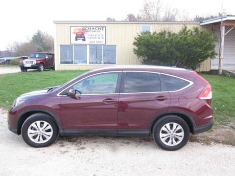 2012 Honda CR-V for sale at SCHACHT MOTOR CO in Decorah IA
