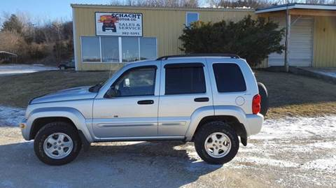 2002 Jeep Liberty for sale at SCHACHT MOTOR CO in Decorah IA