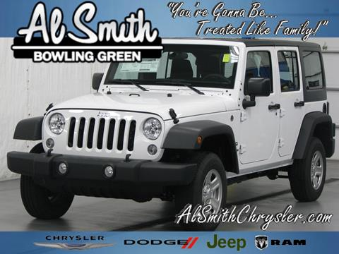 2017 Jeep Wrangler Unlimited for sale in Bowling Green, OH