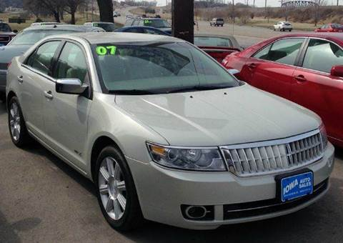 2007 Lincoln MKZ for sale at Iowa Auto Sales, Inc in Sioux City IA