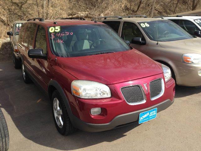 2005 Pontiac Montana SV6 for sale at Iowa Auto Sales, Inc in Sioux City IA