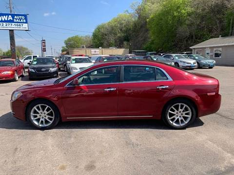 2011 Chevrolet Malibu for sale at Iowa Auto Sales, Inc in Sioux City IA