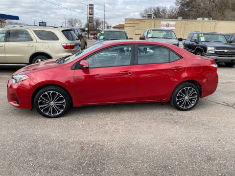 2014 Toyota Corolla for sale at Iowa Auto Sales, Inc in Sioux City IA