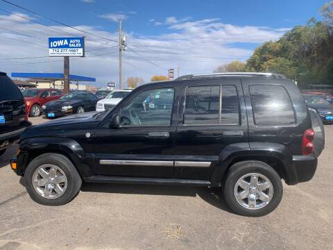 2005 Jeep Liberty for sale at Iowa Auto Sales, Inc in Sioux City IA