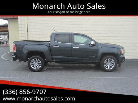 2018 GMC Canyon for sale in Greensboro, NC