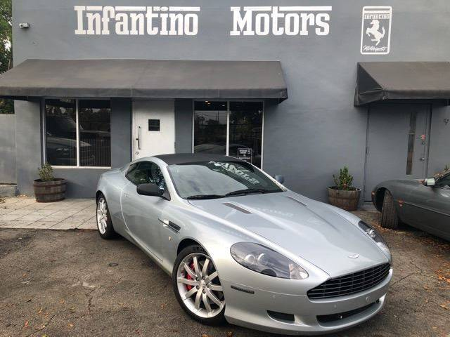 2007 Aston Martin Db9 In Miami Fl Infantino Motors Inc