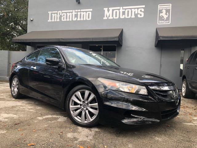 2012 Honda Accord For Sale At INFANTINO MOTORS INC In Miami FL