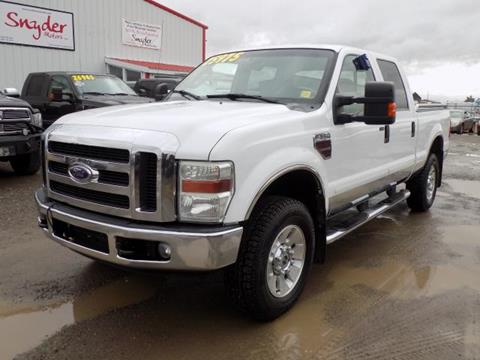 2008 Ford F-350 Super Duty for sale in Belgrade, MT