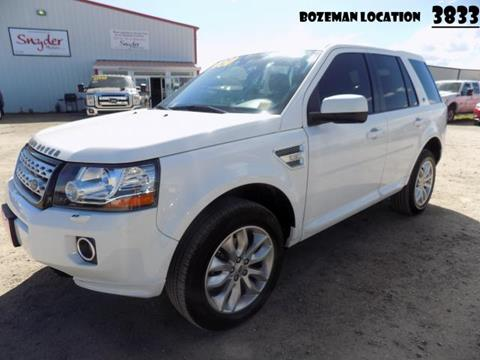 2014 Land Rover LR2 for sale in Bozeman, MT
