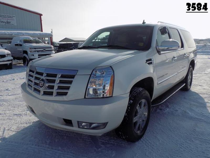2007 Cadillac Escalade Esv In Belgrade Mt Snyder Motors Inc