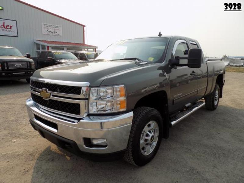 2011 Chevrolet Silverado 2500hd In Belgrade Mt Snyder Motors Inc