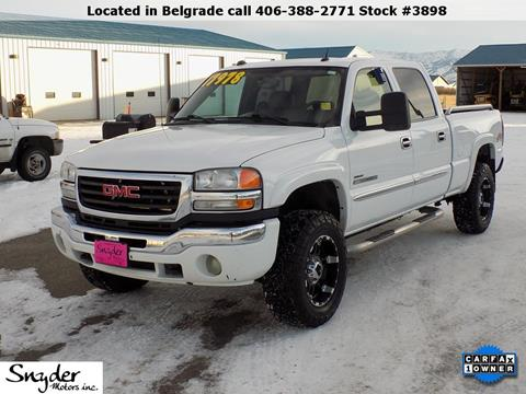 2005 GMC Sierra 2500HD for sale in Bozeman, MT