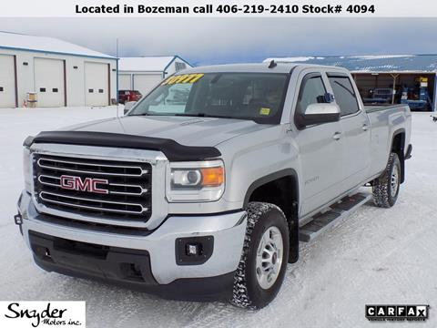 2015 GMC Sierra 2500HD for sale in Bozeman, MT