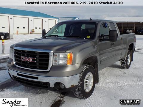 2008 GMC Sierra 2500HD for sale in Bozeman, MT