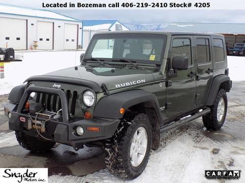 2008 Jeep Wrangler Unlimited for sale in Bozeman, MT