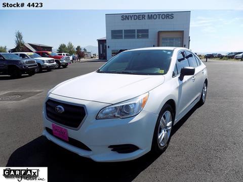 2017 Subaru Legacy for sale in Bozeman, MT
