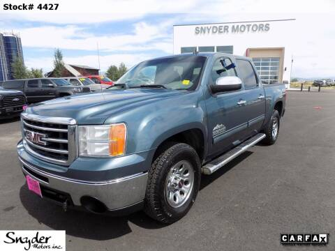 2012 GMC Sierra 1500 for sale in Bozeman, MT