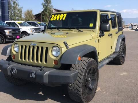 2013 Jeep Wrangler Unlimited for sale at Snyder Motors Inc in Bozeman MT