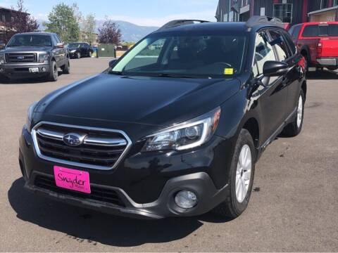 2018 Subaru Outback for sale at Snyder Motors Inc in Bozeman MT