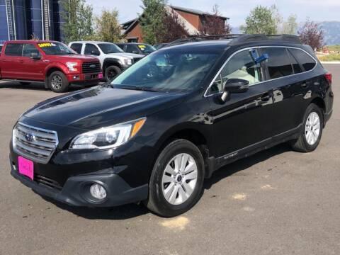 2017 Subaru Outback for sale at Snyder Motors Inc in Bozeman MT