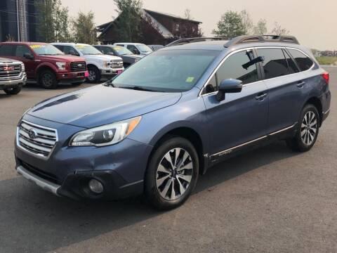 2016 Subaru Outback for sale at Snyder Motors Inc in Bozeman MT