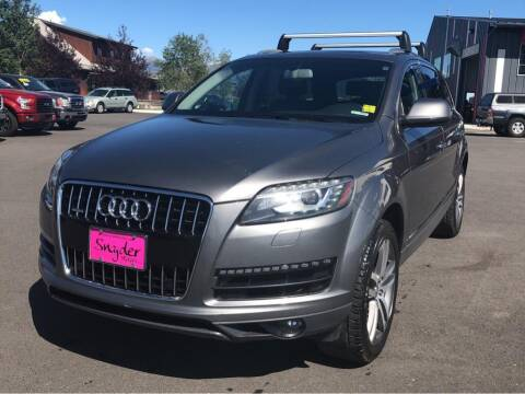 2011 Audi Q7 for sale at Snyder Motors Inc in Bozeman MT