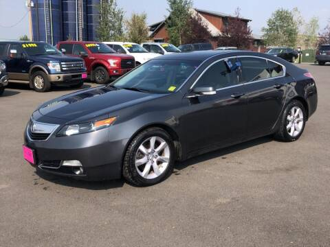 2013 Acura TL for sale at Snyder Motors Inc in Bozeman MT