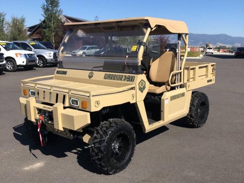 2020 Massimo WARRIOR 800 for sale at Snyder Motors Inc in Bozeman MT