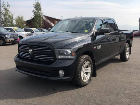 2015 RAM Ram Pickup 1500 for sale at Snyder Motors Inc in Bozeman MT