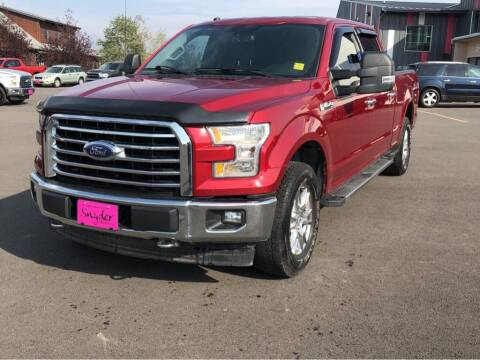 2017 Ford F-150 for sale at Snyder Motors Inc in Bozeman MT