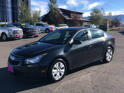 2014 Chevrolet Cruze for sale at Snyder Motors Inc in Bozeman MT
